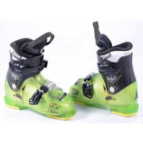 children's/junior ski boots ATOMIC WAYMAKER JR R2 green, THINSULATE insulation