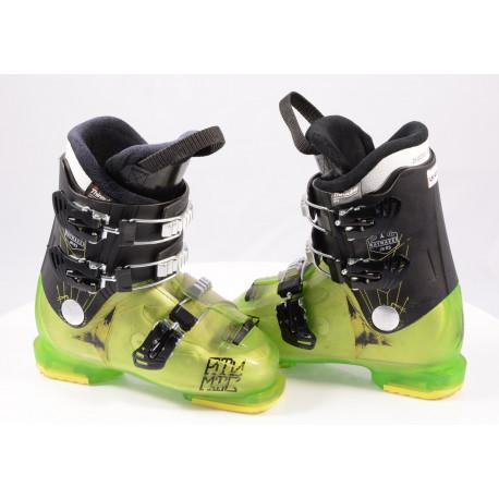 children's/junior ski boots ATOMIC WAYMAKER JR R3 green, THINSULATE insulation