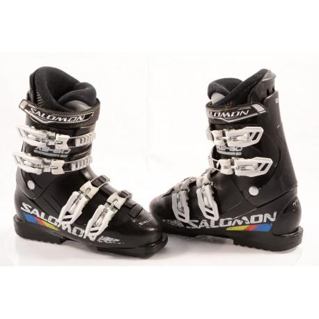 children's/junior ski boots SALOMON X3-60, ENERGYZER 60, micro, BLACK
