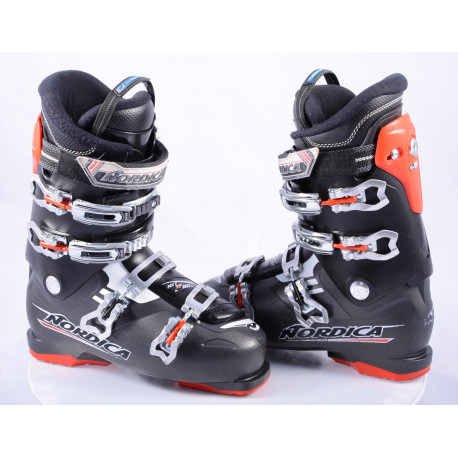 ski boots NORDICA NXT X80 N4, micro, macro, ANTIBACTERIAL, ACP , BLACK/red
