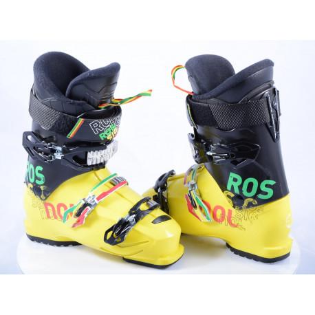 children's/junior ski boots ROSSIGNOL TMX 90, micro, YELLOW