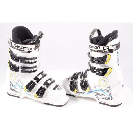 children's/junior ski boots SALOMON X MAX 60 T, OVERSIZED pivot, WHITE/black