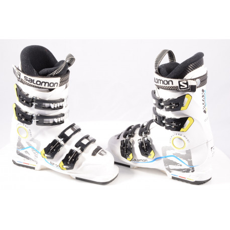 detské/juniorské lyžiarky SALOMON X MAX 60 T, OVERSIZED pivot, WHITE/black
