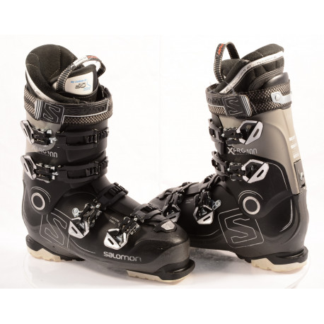 buty narciarskie SALOMON X PRO 100 BLACK, OVERSIZED pivot, CUSTOM shell, MY CUSTOM FIT PERF 3D