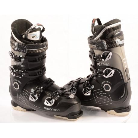 chaussures ski SALOMON X PRO 100 BLACK, OVERSIZED pivot, CUSTOM shell, MY CUSTOM FIT PERF 3D