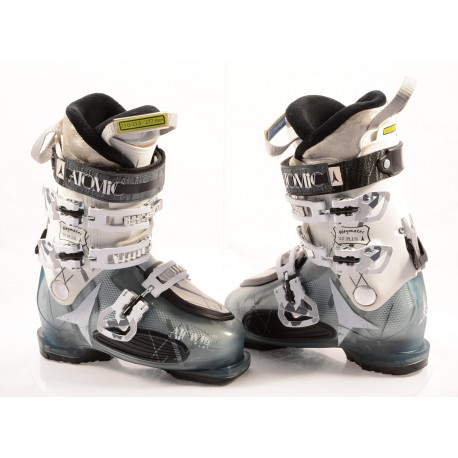 buty narciarskie damskie ATOMIC WAYMAKER 80 plus, SKI/WALK, anatomic medium fit, comfort, transp/white