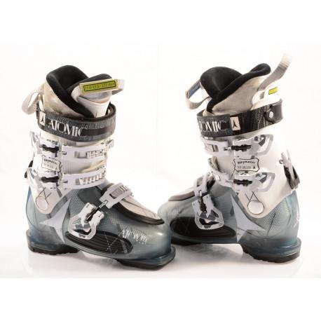 women's ski boots ATOMIC WAYMAKER 80 plus, SKI/WALK, anatomic medium fit, comfort, transp/white