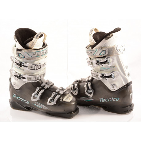 chaussures ski femme TECNICA FLING transp/white, QUADRA tech, ULTRA fit, WOMAN fit, canting, QUICK instep