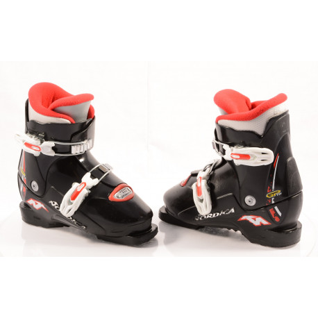 children's/junior ski boots NORDICA GP T2 BLACK/red