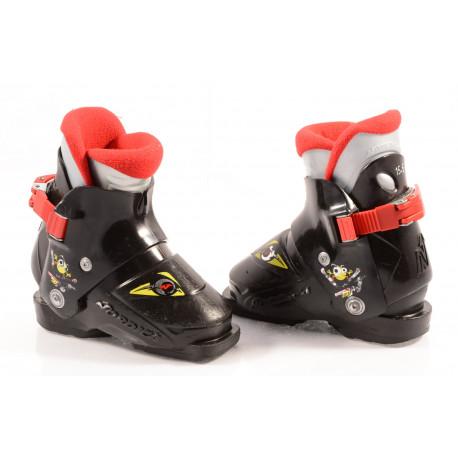 children's/junior ski boots NORDICA SUPER 0.1 Black, 1 ratchet buckle