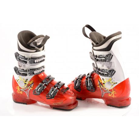 detské/juniorské lyžiarky ATOMIC HAWX PLUS JR 4, RED/white, macro