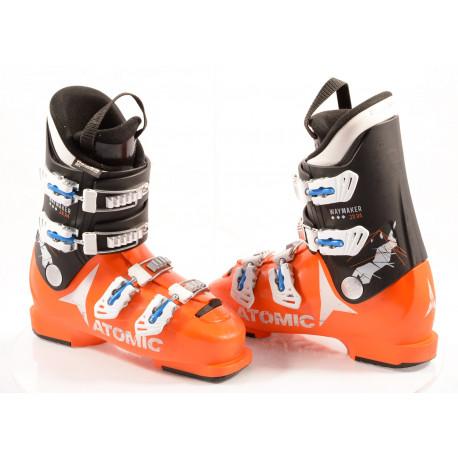 children's/junior ski boots ATOMIC WAYMAKER JR R4 orange, THINSULATE insulation