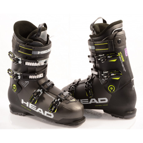chaussures ski HEAD ADVANT EDGE 85, 2019, BLACK/yellow, micro, macro, EASY entry, canting ( en PARFAIT état )