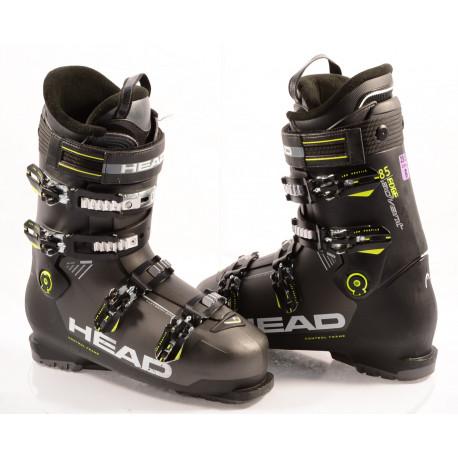 ski boots HEAD ADVANT EDGE 85, 2019, BLACK/yellow, micro, macro, EASY entry, canting ( TOP condition )