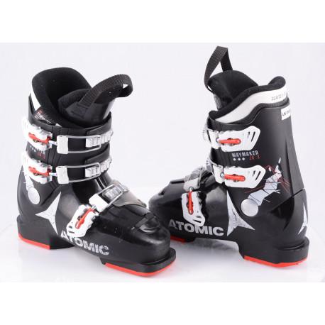 children's/junior ski boots ATOMIC WAYMAKER JR 3, BLACK/red/white, THINSULATE insulation