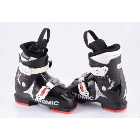 children's/junior ski boots ATOMIC WAYMAKER JR 2, BLACK/red/white, THINSULATE insulation ( TOP condition )