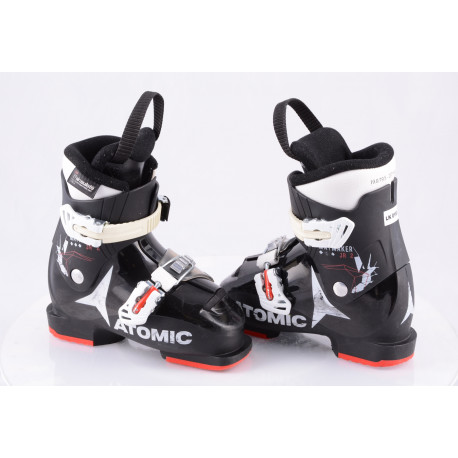 dětské/juniorské lyžáky ATOMIC WAYMAKER JR 2, BLACK/red/white, THINSULATE insulation ( TOP stav )