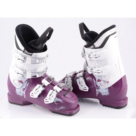 children's/junior ski boots ATOMIC WAYMAKER GIRLS 4, VIOLET/white, micro, macro, THINSULATE insulation