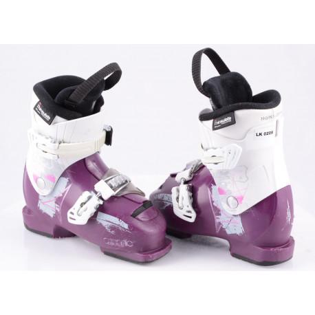 children's/junior ski boots ATOMIC WAYMAKER GIRLS 2, VIOLET/white, micro, macro, THINSULATE insulation
