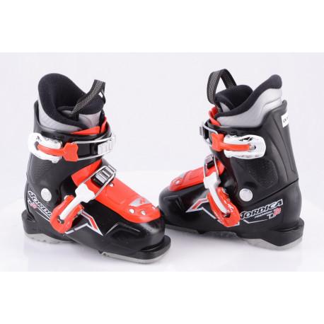 children's/junior ski boots NORDICA FIREARROW TEAM 2, black/red ( TOP condition )