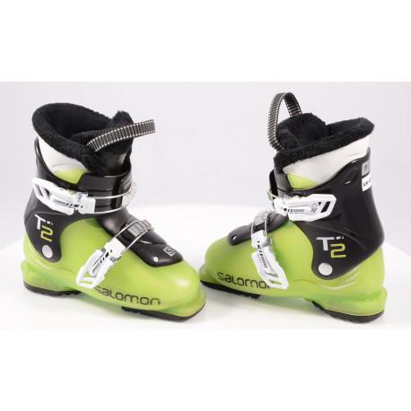 children's/junior ski boots SALOMON T2 green