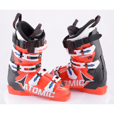 lyžiarky ATOMIC REDSTER FIS 130, 2017, RED/black, MEMORY FIT, CANTING, WORLDCUP atomic, micro, macro ( NOVÉ )