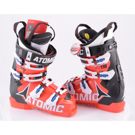 lyžiarky ATOMIC REDSTER FIS 110, 2017, RED/black, MEMORY FIT, CANTING, WORLDCUP atomic, micro, macro ( NOVÉ )