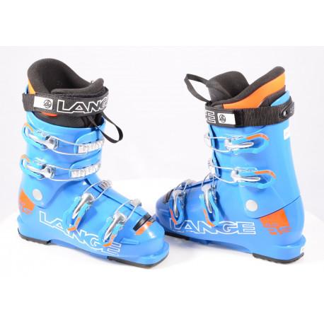 detské/juniorské lyžiarky LANGE RS 60 blue, RACE, 4 kov. klipsne
