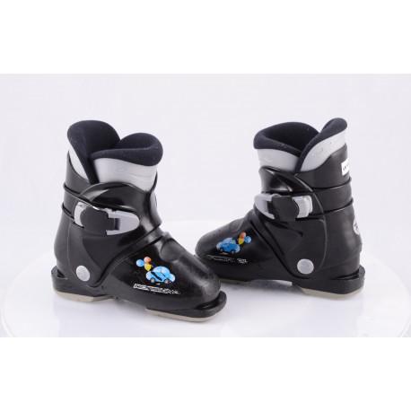 children's/junior ski boots ROSSIGNOL R18 car, BLACK