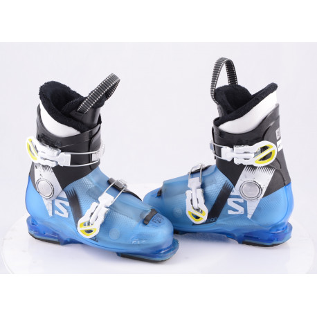 children's/junior ski boots SALOMON TEAM T2 BLUE