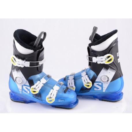 children's/junior ski boots SALOMON TEAM T3 BLUE