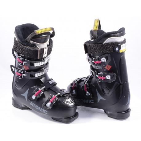 dámske lyžiarky ATOMIC HAWX MAGNA R80 W X, EZ STEP in, micro, macro, BLACK/cykl ( TOP stav )