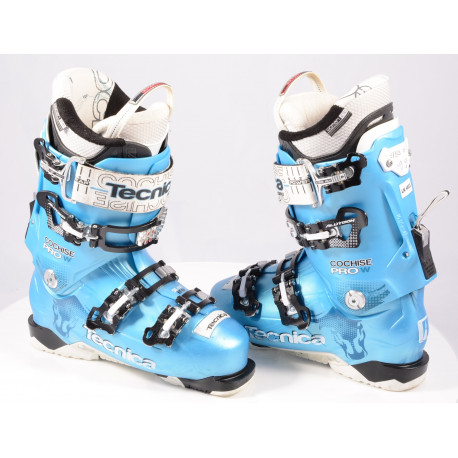 dámske lyžiarky TECNICA COCHISE 105 PRO W, QUADRA tech, SKI/WALK, ULTRA fit, micro, macro, canting ( TOP stav )