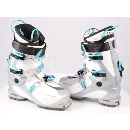 skialpinistické lyžiarky BLACK DIAMOND SWIFT, TLT, THERMO liner, Triax pivot frame, SKI/WALK, micro, macro ( TOP stav )