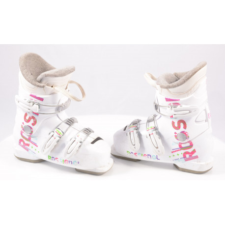 children's/junior ski boots ROSSIGNOL FUN GIRL J3 STAR, macro ( TOP condition )