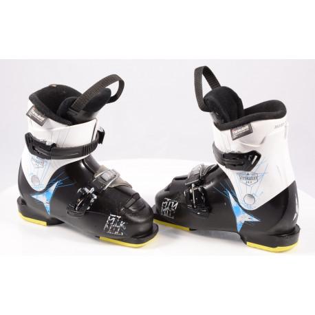 dětské/juniorské lyžáky ATOMIC WAYMAKER JR 2 black/white, THINSULATE insulation