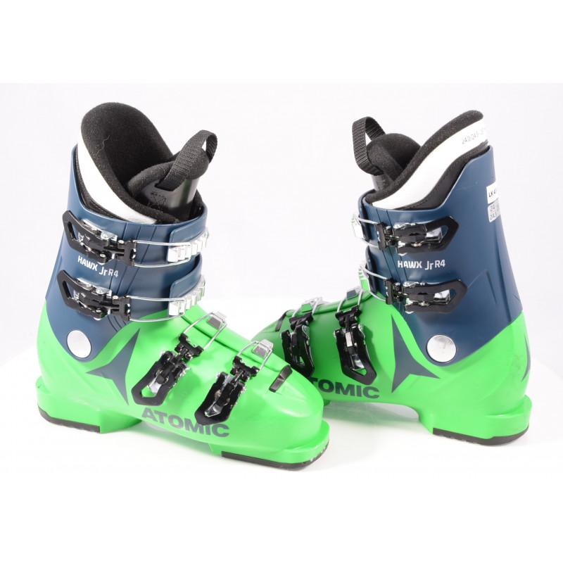 detské/juniorské lyžiarky ATOMIC HAWX JR R4 2020 GREEN/blue, THINSULATE insulation, macro