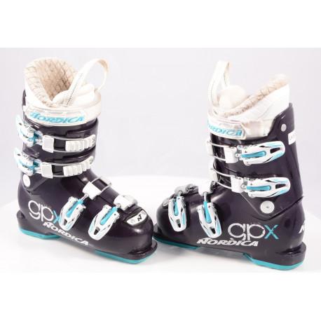 children's/junior ski boots NORDICA GPX TEAM Violet, micro, macro