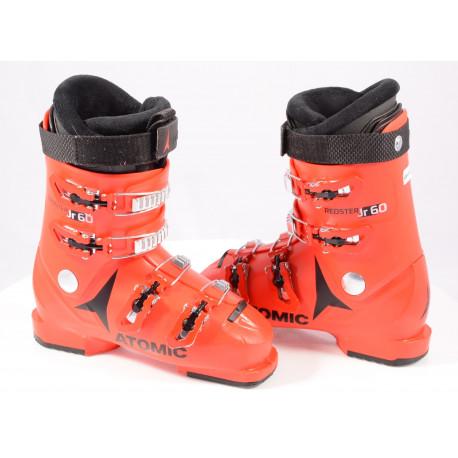 children's/junior ski boots ATOMIC REDSTER JR 4, 2020, RED/black, micro, macro, THINSULATE insulation