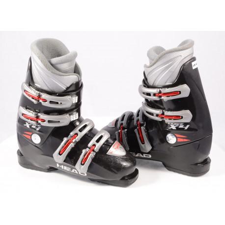children's/junior ski boots HEAD CARVE X4 BLACK/red