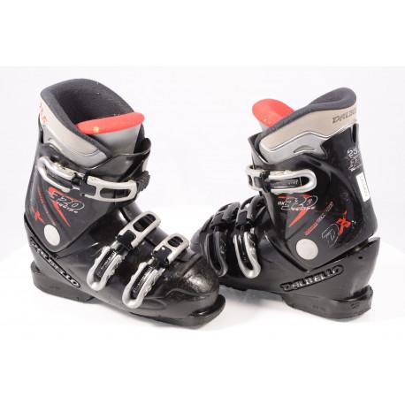 detské/juniorské lyžiarky DALBELLO DX 320 EQUIPE, DUOFLEX technology, BLACK