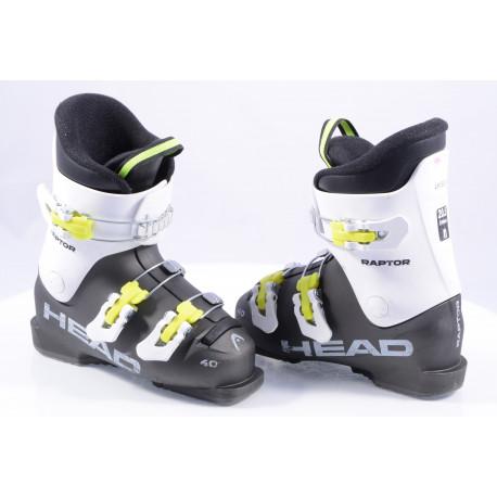 children's/junior ski boots HEAD RAPTOR 40, macro, GREY/white
