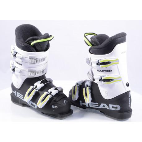 children's/junior ski boots HEAD RAPTOR 50, GREY/white, macro ( TOP condition )
