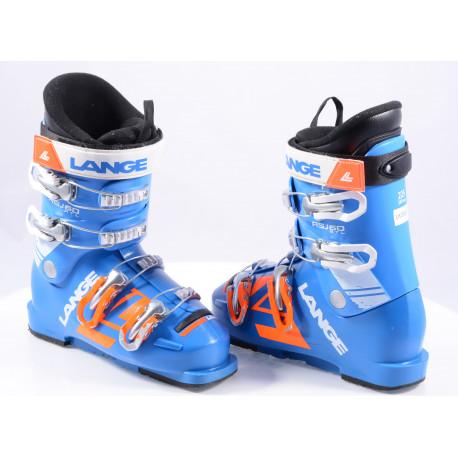detské/juniorské lyžiarky LANGE RSJ 60 RTL 2019, Blue/orange