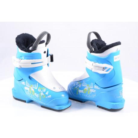 children's/junior ski boots SALOMON TEAM T1 BLUE