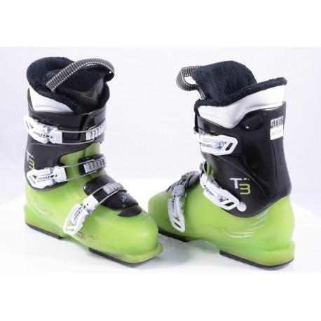 children's/junior ski boots SALOMON T3 green