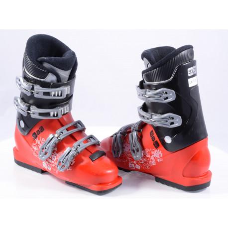 children's/junior ski boots SALOMON SPK 60, RED/black ( TOP condition )