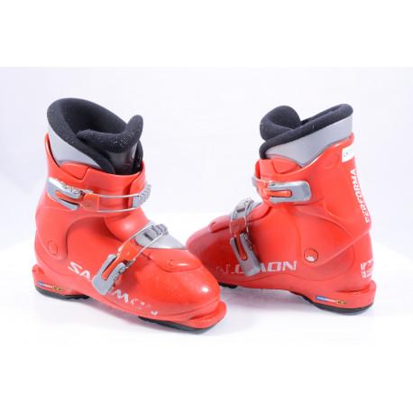 children's/junior ski boots SALOMON PERFORMA T2, RED