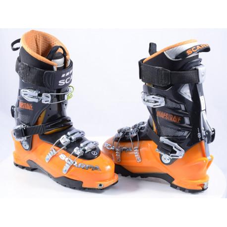 skialpinistické lyžiarky SCARPA MAESTRALE, MANGO/black, SKI/WALK, axial alpine tech