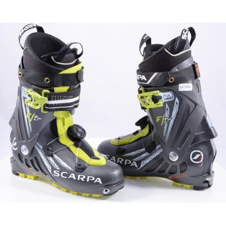 skialpinistické lyžiarky SCARPA F1 TR, axial alpine technology, carbon core, BOA ( TOP stav )